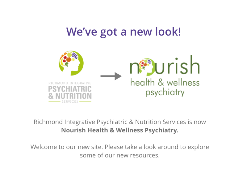 Welcome to the new Nourish website!