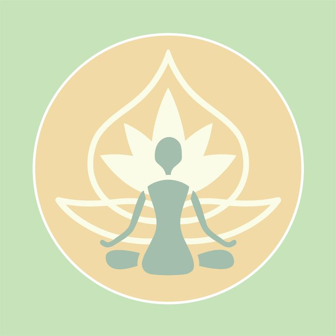 mind and body yoga icon